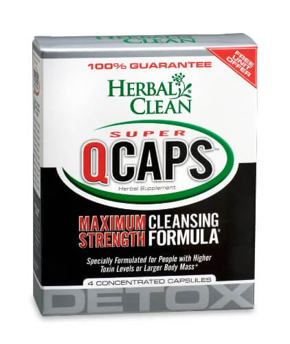 Herbal Clean Super QCaps Maximum Strength