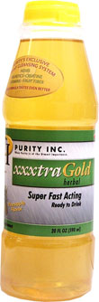 XXXtra Gold Cleansing Drink